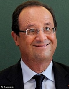 An Actual Picture Of The French President
