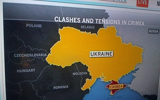 Note the MSNBC graphic showing Czechoslovakia, a country that dissolved 21 years ago